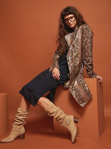 Slouchy Boots Are Back