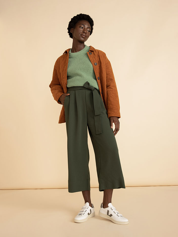 Color Pairings: Olive and Orange