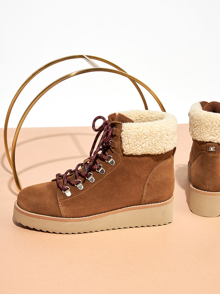 Shearling-Lined Footwear