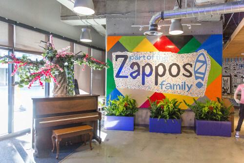 Zappos Lobby