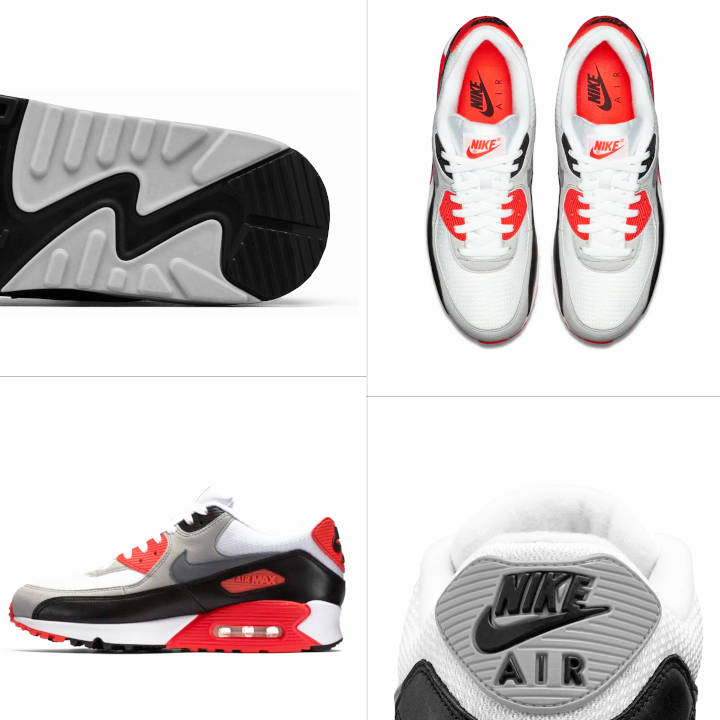 Air Max Infrared Visible Air