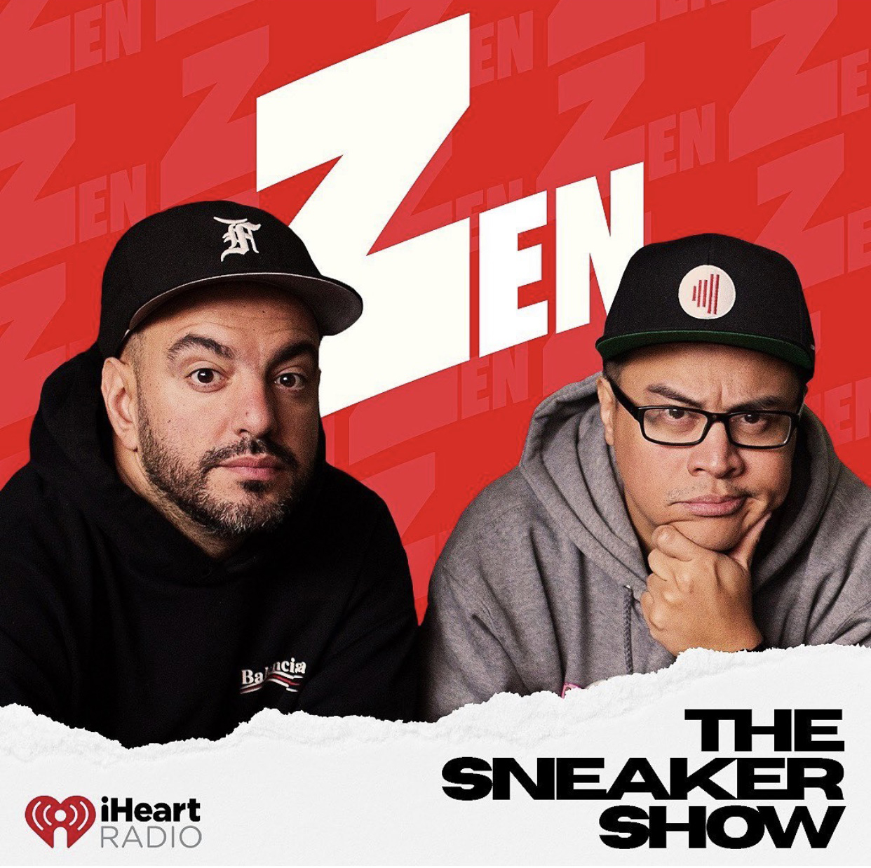 The Zen Sneaker Show, available on iHeart Radio!
