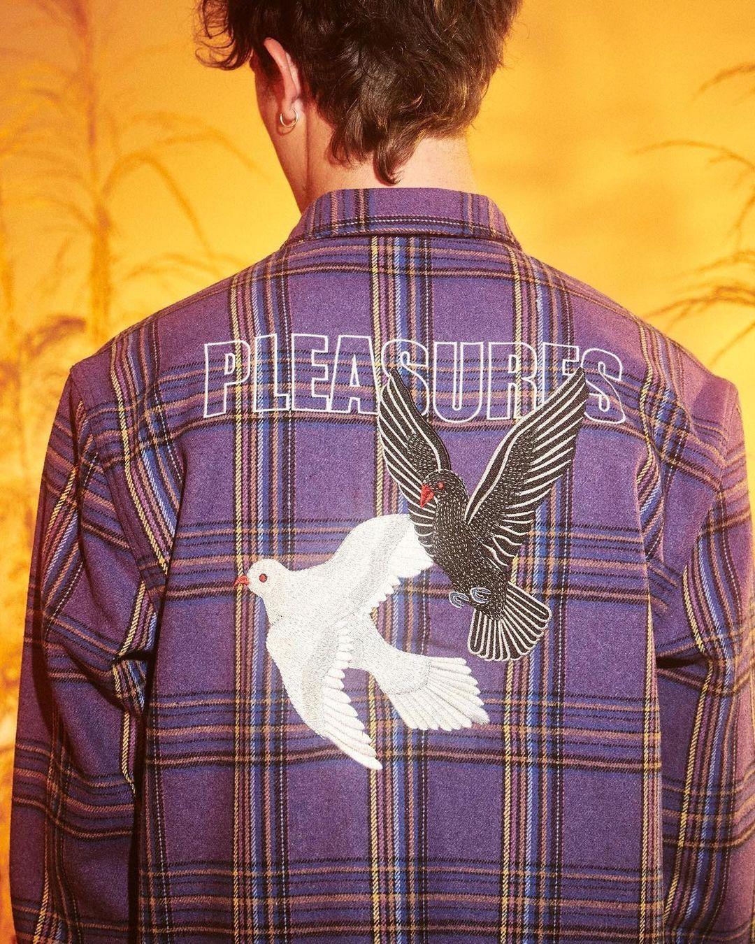 PLEASURES Widow Heavyweight Flannel, available on Zen!